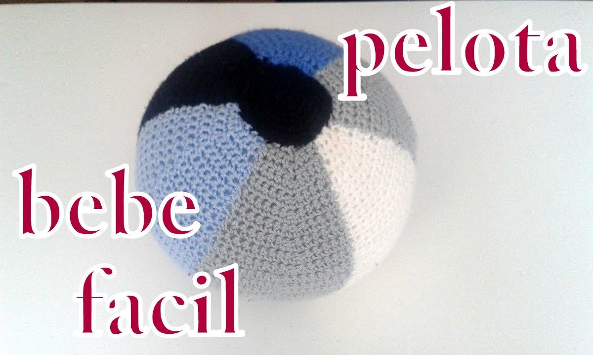 Como hacer una pelota amigurumi en ganchillo o crochet facil para ...