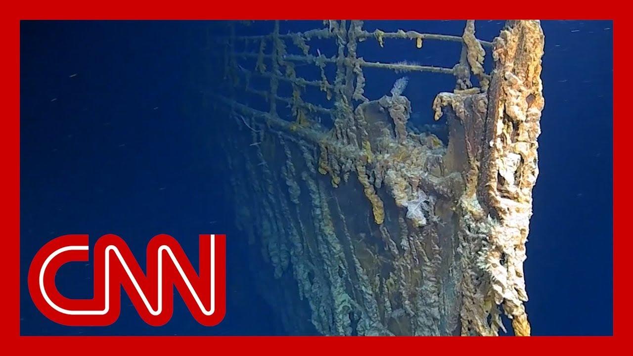 CNN:New video reveals Titanic being devoured