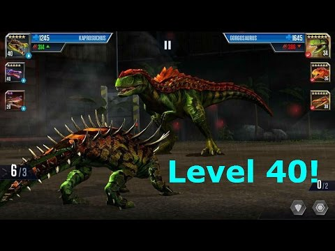 Jurassic World The Game- Gorgosaurus Level 40!