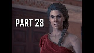 ASSASSIN'S CREED ODYSSEY Walkthrough Part 28 - Red Dress (Let's Play Commentary)