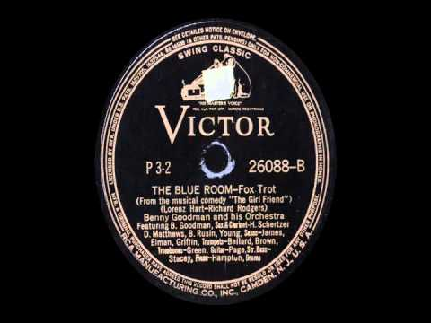 78 RPM: Benny Goodman & his Orchestra - The Blue Room