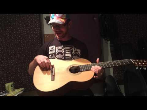Montalvo 7 string classical guitar - Brian Moran