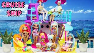 LOL Family Cruise Ship Bon Bon Family Neonlicious Family Vacation