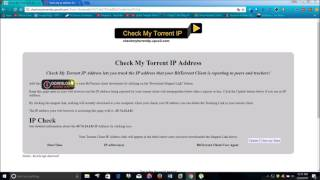 Find What IP Address Location Your Web Browser, Torrent, P2P Application Is Giving Online Free Easy