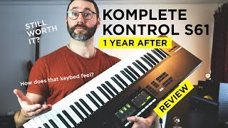 Komplete Kontrol S61 mk2 Review - 1 Year In The Studio 2019