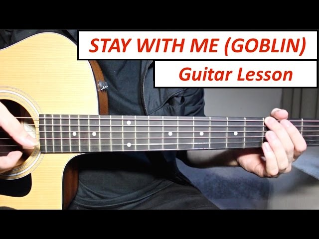 Guitar Chords with Strumming Patterns - Stay With Me - Chanyeol (EXO ...