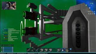 Chillin & Building with Spanj from February 10th Livestream on Twitch | New Battleship