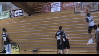 Davon Newton with the Dunk of the Year at ScoutsFocus Elite 80 Greensboro! #SCTop10