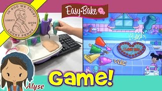 Easy Bake Oven Kitchen CD-Rom Play Set - Turn Your Computer Into A Kitchen!