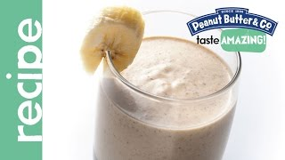 Peanut Butter Yogurt Banana Smoothie With Flax Seed Recipe