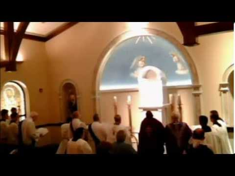 Holy Hearts Chapel Dedication with Bishop Malloy's Homily