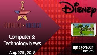 Computer/Tech News, Talking Fortnite On Android, Amazon Reviews, iPhone Rumors, Disney Play
