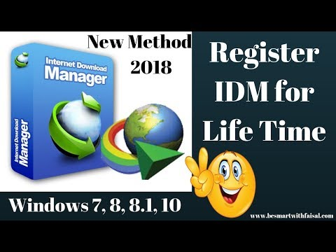 how to register idm for lifetime in windows 8