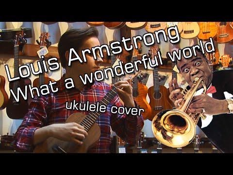 What a wonderful world (solo ukulele cover...