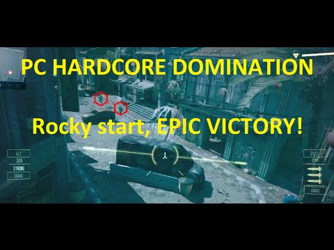 Black Ops 3 PC - Hardcore Dom - 35-15 victory with 15 defends!