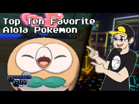 Top Ten Favorite Alola Pokémon