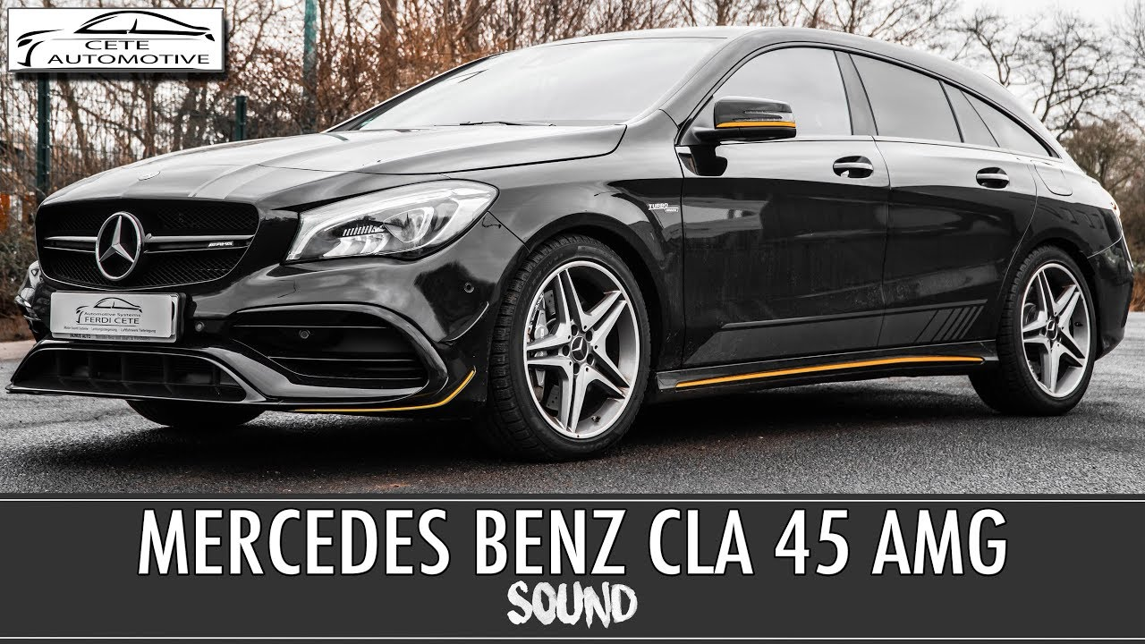 mercedes benz cla 45 amg sound shooting brake active. Black Bedroom Furniture Sets. Home Design Ideas
