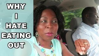 #1 Reason Why I HATE EATING OUT | May 14th 2016 DNVlogsLife
