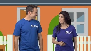 Lesson 1 - Sam and Mel English for Children