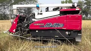 Reaper and Combine Harvester for Paddy Harvesting in Bangladesh