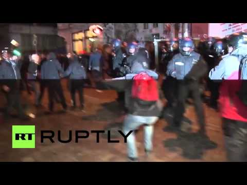 Germany: Scores arrested as police clash with protesters on May Day in Hamburg