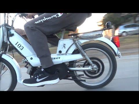 Peugeot Vogue - top speed (honest video) - YouTube