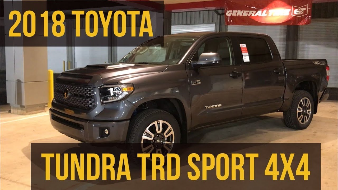 2018 Toyota Tundra Trd Sport 4x4 With Jonathan Sewell
