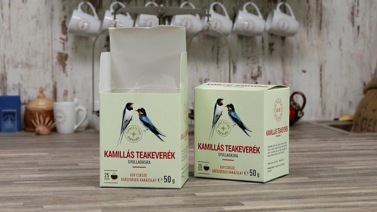 Györgytea Kamillás teakeverék – gyulladás csökkentésére 50 g