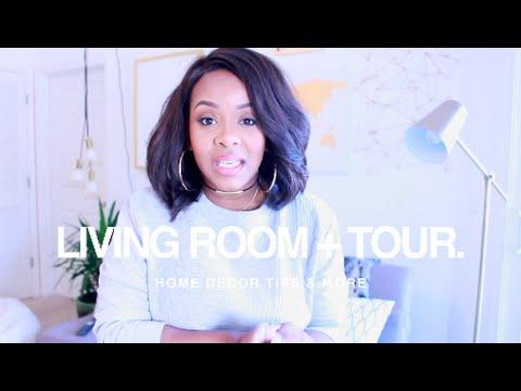 Our LIVING ROOM TOUR & DECOR TIPS | Yolanda Renee