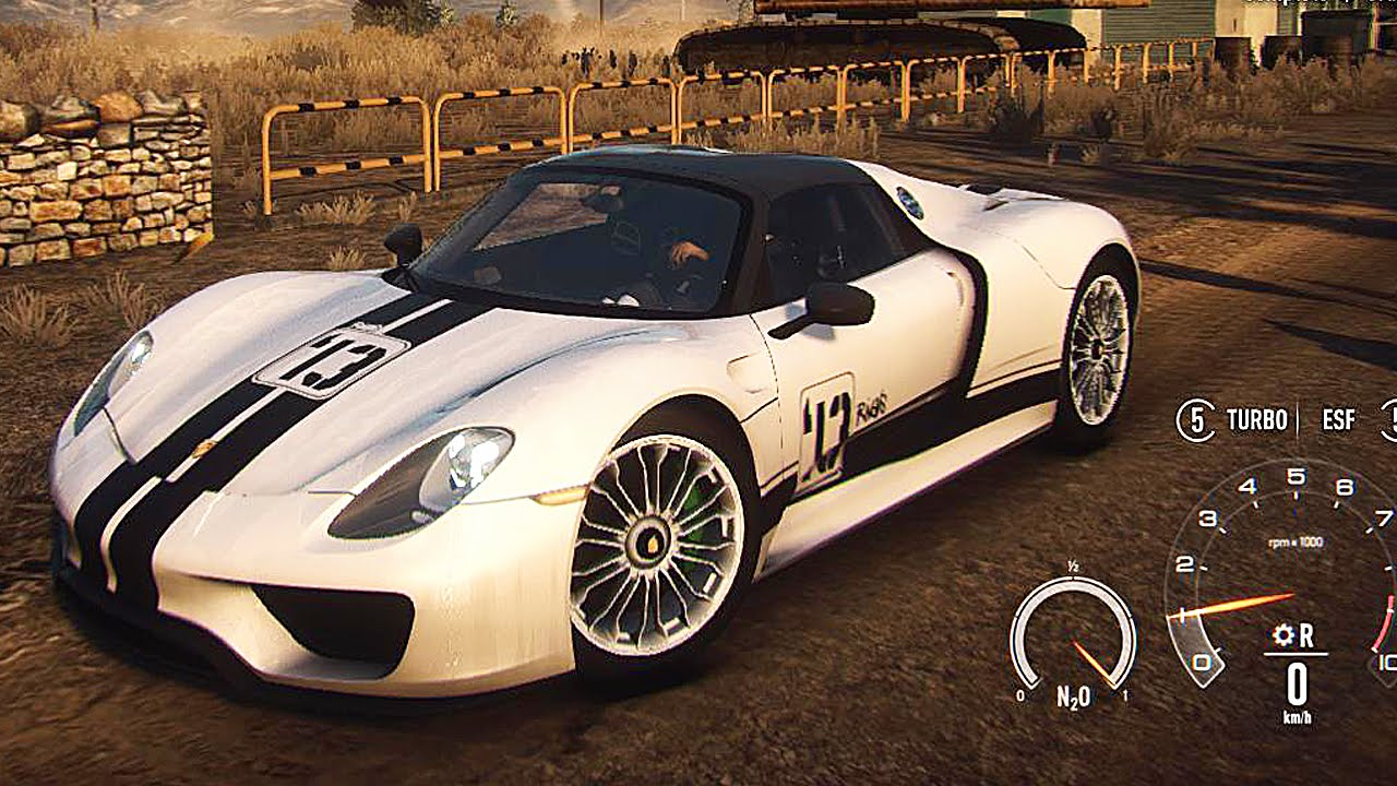 need for speed rivals gameplay with porsche 918 spyder. Black Bedroom Furniture Sets. Home Design Ideas