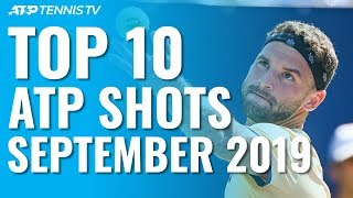 Top 10 ATP Shots From September 2019!