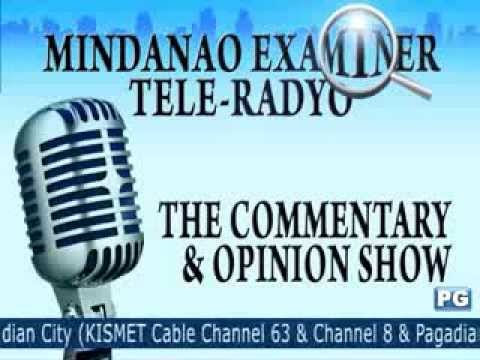 Mindanao Examiner Tele-Radyo Oct. 3, 2013