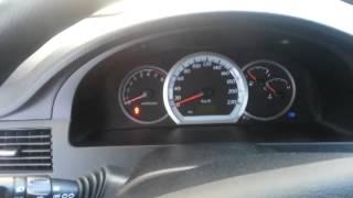 Запуск двигателя Daewoo Gentra в -33°С