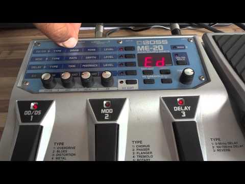 Regulagem da Pedaleira BOSS ME-20 - Deivison Pires