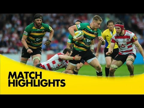 Gloucester Rugby V Northampton Saints - Aviva Premiership Rugby 2015/16