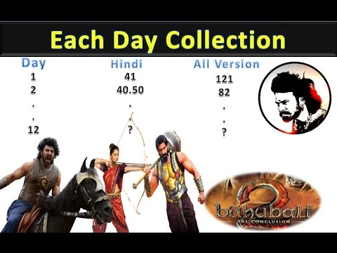 Thumbnail: Baahubali 2 Full Box office collection 2017 | Baahubali 2 : The Conclusion Each Day Collection 2017