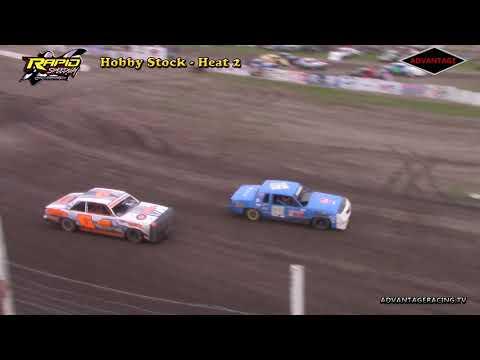 Hobby Stock Heats - Rapid Speedway - 6/1/18