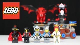 LEGO Dragon Mountain Review, Unboxing, Time Lapse Build Castle 70403