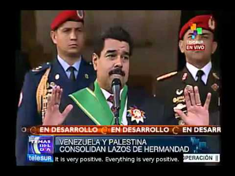 Palestine has the right to trade with the world: Maduro