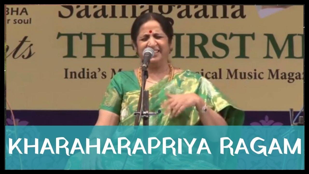 Kharaharapriya Ragam by Smt. Aruna Sairam at Navarasa Sangeethotsava 6th Annual Music Festival 2015