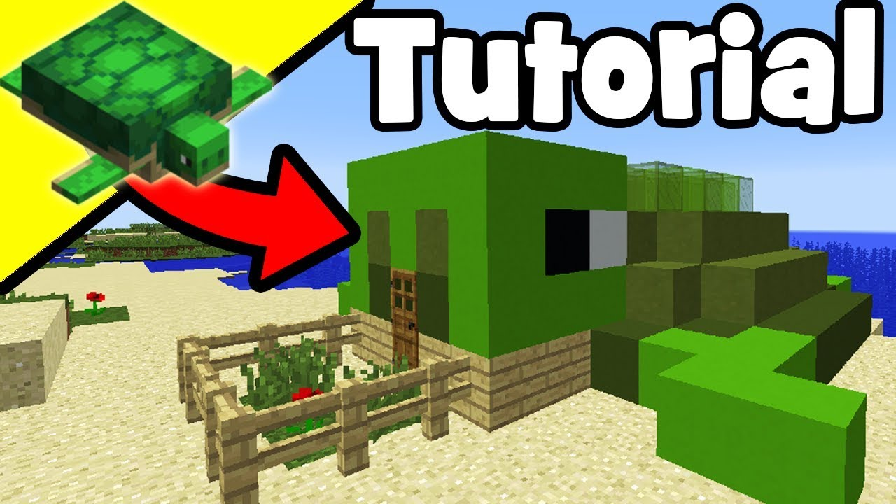 Minecraft Tutorial  How To Make A Turtle House  U0026quot House For Turtles U0026quot