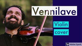Vennilave vennilave | violin cover | ft subeesh viswanath | band fivestring