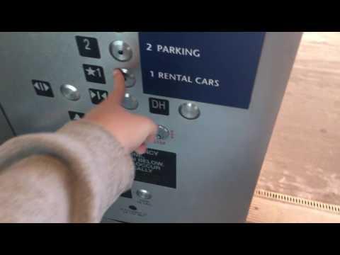 Kone MRL Parking Garage Elevators @ Indianapolis International Airport