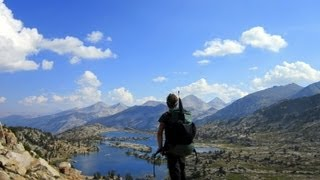 Ultralight Backpacking John Muir Trail with Mount Whitney Mountaineers Route