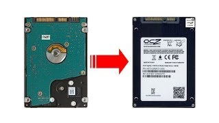 How to clone a HDD to SSD using a live Linux CD