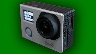 Крутая Экшн камера с матрицей от Sony. AC Robin Zed2.
