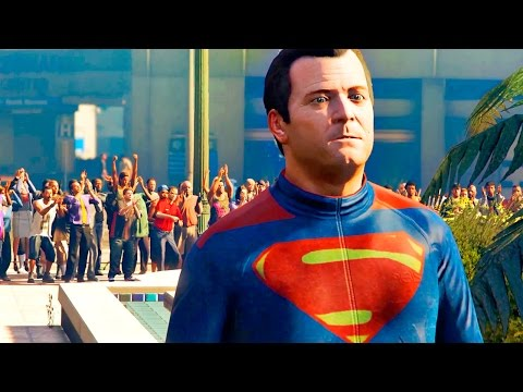 Batman v Superman: Dawn of Justice Trailer Recreated in GTA 5