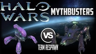 What Happens When Locusts Overdrive on a Scarab? | Halo Wars Mythbusters