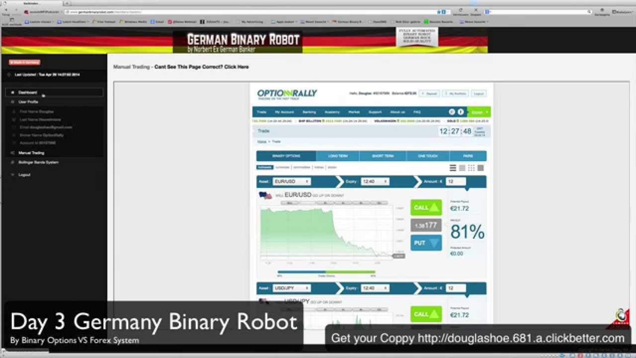 Binary options robot review 2014