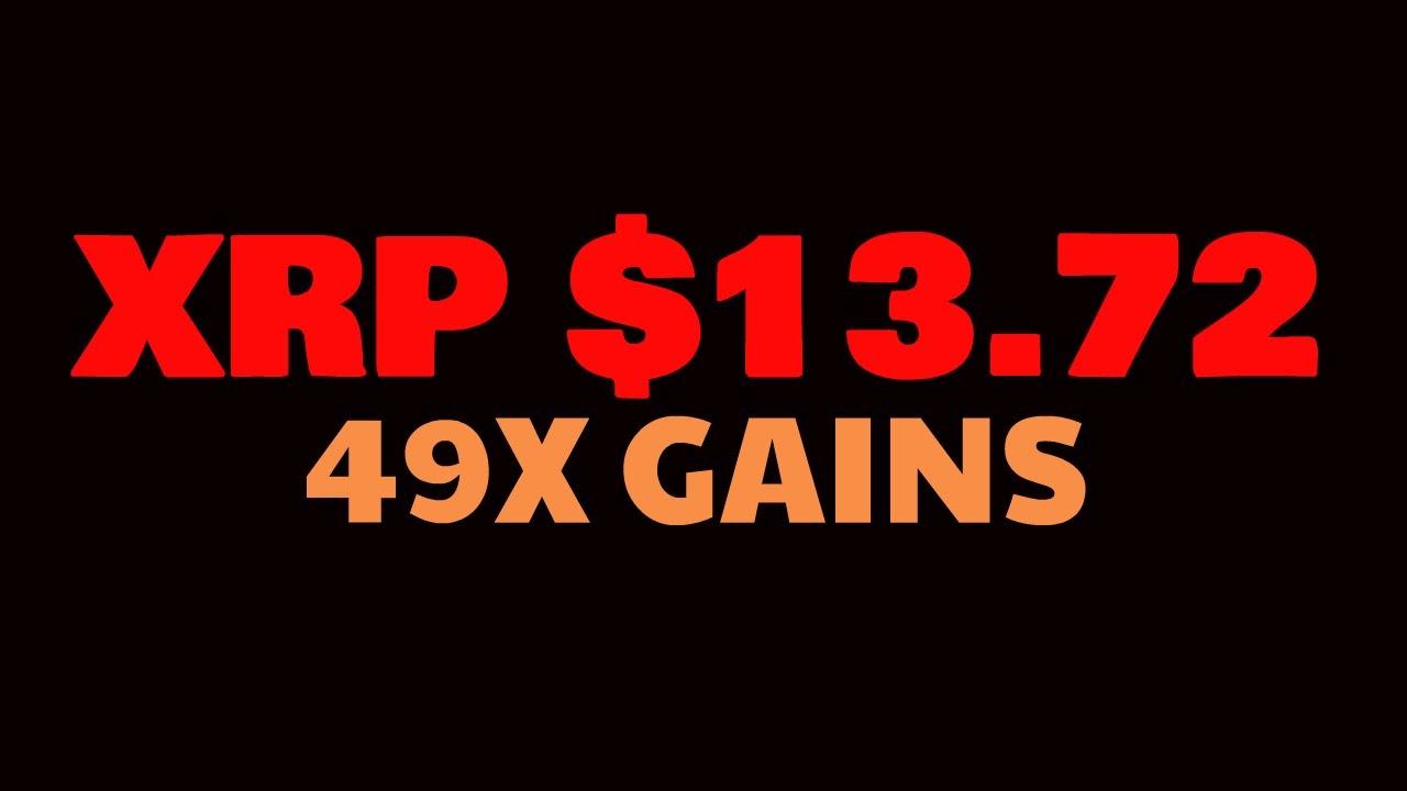XRP Analyst: $13.72 16